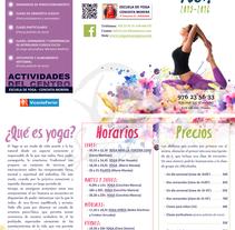 MAquetación de folletos. A Graphic Design project by Sara Aladrén Castillo - 30-08-2015