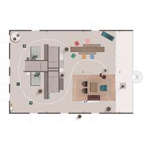 CAVA, La Maison. A Design, Furniture Design, Interior Architecture, Interior Design, and Lighting Design project by Victoria López Martín         - 01.09.2015