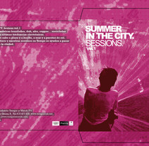 Cover CD  |  Summer In The City . A Art Direction, and Graphic Design project by Demian  Abrayas - Sep 04 2015 12:00 AM