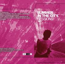 Cover CD  |  Summer In The City . Un proyecto de Dirección de arte y Diseño gráfico de Demian  Abrayas - Viernes, 04 de septiembre de 2015 00:00:00 +0200