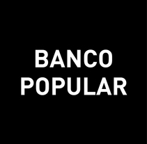 Banco Popular. A Illustration, Animation, and Art Direction project by Ustudio Mol+Carla  - 08-09-2015