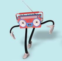 BoomBot Mi Proyecto del curso Diseño de personajes y Animación 3D. A Motion Graphics, 3D, and Animation project by Carlos Lasarte         - 21.09.2015