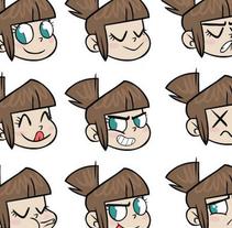 Little Hero- Diseño de personajes. Un proyecto de Ilustración y Diseño de personajes de Núria  Aparicio Marcos - 14-09-2015