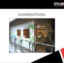 Local comercial – Lavanderías Pressto. A Design, Installations, Furniture Design, Graphic Design, Interior Architecture, Interior Design, and Lighting Design project by DPStudio         - 16.09.2015