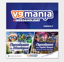 Comunicazione Winter 2015 - VGMANIA. Um projeto de Design, Publicidade, Direção de arte, Eventos e Marketing de Guerra Graphics         - 19.09.2015