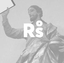 Rafa San Emeterio Identidad. Un proyecto de Dirección de arte, Br e ing e Identidad de rafa san emeterio  - 18-09-2015