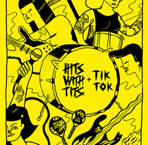Tits Tok. A Illustration project by Ana Galvañ - Sep 21 2015 12:00 AM