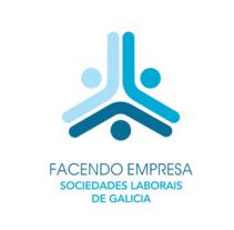 Marca AESGAL. Sociedades Laborais de Galicia. Um projeto de Br, ing e Identidade, Consultoria criativa e Design gráfico de Diego Equis De         - 21.10.2014