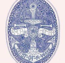 Ilustración para EL Dios de los Tres. A Design, Illustration, and Graphic Design project by Javier Navarro Romero         - 22.09.2015