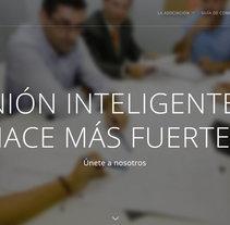 www.asocoin.com - Web con panel interno para trabajadores.. Um projeto de Web design de Juan Bares         - 23.09.2015