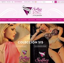 Tienda Online Solher Jioas. A Web Design, and Web Development project by Henry  Avila Design - 23-08-2015