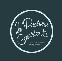 Imagen corporativa para el bar La Pechera Grasienta. A Br, ing&Identit project by Aurora M Moreno         - 24.09.2015