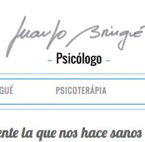 web Juanjo Bringué-Psicólogo. Um projeto de Ilustração e Web design de Ignacio Ballesteros Díaz         - 30.09.2015
