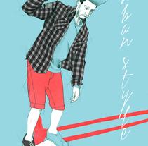 Proyecto de moda para Ecko Unltd. Un proyecto de Ilustración de Javier Castillejo Patón - 04-10-2015