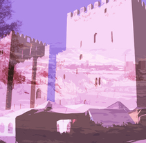 Castillo o Alcázar de Medina de Pomar. A Design, Photograph, and Graphic Design project by Juan Francisco (John) Escudero Guerra         - 04.10.2015