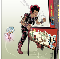Rufio´s Turn. A Illustration, and Comic project by Ibon Sánchez Rodriguez - 11-10-2015