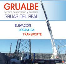 Grualbe - folleto. Un proyecto de Diseño gráfico de M.A. Serralvo - Sábado, 14 de junio de 2014 00:00:00 +0200