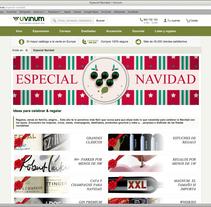 Campaña de navidad 2014. Um projeto de Direção de arte, Design gráfico e Web design de David Arrieta         - 13.10.2014