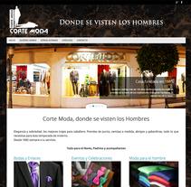 WEB Corte Moda. Un proyecto de Diseño Web de Moisés Escolà Martínez         - 17.10.2014