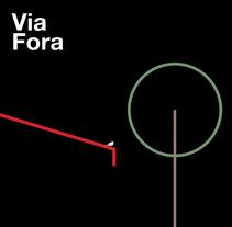 Restaurante Via Fora, Imagen realizada con motivo del 10ª aniversario.. Un proyecto de Diseño y Dirección de arte de TGA +  - 18-10-2015