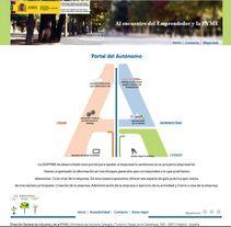 Portal del Autónomo - Ministerio de Industria, Energía y Turismo DGIPYME. A Web Development project by María Díaz-Llanos Lecuona         - 22.10.2015