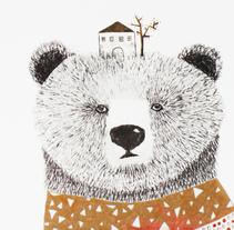 Mr. Bear, Mr. Deer & Mr. Fox. Un proyecto de Ilustración de edurne          - 22.09.2013