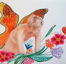 Fotos intervenidas con rotulador. Un proyecto de Ilustración, Fotografía, Bellas Artes, Diseño gráfico y Collage de Nuria González Fernández         - 24.10.2015