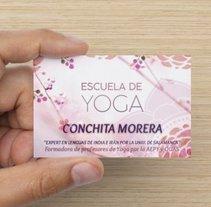 Tarjetas de visita. A Design project by Sara Aladrén Castillo - 25-10-2015