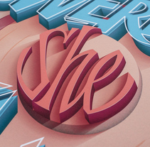 She's Powerful. A Design, Illustration, T, and pograph project by Joan Quirós - Oct 26 2015 12:00 AM
