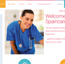 spaincares.com. Um projeto de Web design e Desenvolvimento Web de Gema R. Yanguas Almazán         - 31.03.2015