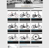 Ecobike. A Web Design project by La Teva Web Diseño Web  - 26-10-2015