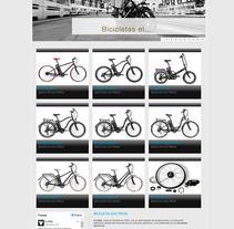 Ecobike. Un proyecto de Diseño Web de La Teva Web Diseño Web  - Martes, 27 de octubre de 2015 00:00:00 +0100