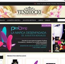 vendiocio.com Prestashop. Um projeto de Web design e Desenvolvimento Web de Gema R. Yanguas Almazán         - 14.12.2012