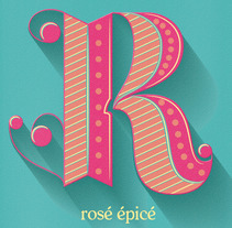Vin rosé. A Design, Illustration, T, and pograph project by seseo - Oct 28 2015 12:00 AM