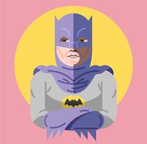 Batman & Robin 60´s. A Film, Video, TV, Comic, Character Design&Illustration project by Salmorejo Studio  - 10.30.2015