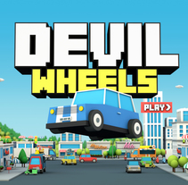 Devil Wheels - Curso Diseño y programación de videojuegos. A Design, Illustration, 3D, Art Direction, Game Design, Interactive Design, and Multimedia project by Marianito Rivas - Nov 05 2015 12:00 AM