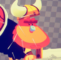 Viking. A Animation, and Character Design project by Juan Carlos Cruz - 04-11-2015