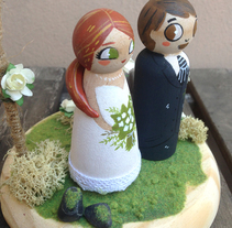 Cake toppers. A Fine Art project by Lydia Sánchez Marco - Nov 09 2015 12:00 AM