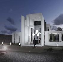 Modelado 3d - Tienda maqueteria. A 3D, and Architecture project by Pablo Galán Salazar         - 10.11.2015