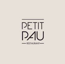 Petit Pau Restaurant. A Br, ing&Identit project by xmgrafic - Nov 12 2015 12:00 AM