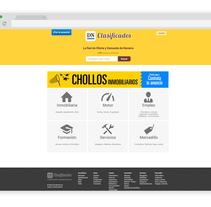 Web Diario de Navarra Clasificados. A UI / UX, Web Design, and Web Development project by Asier Pérez Subijana         - 31.01.2014