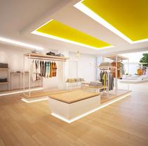 Limonero 33. Tienda de moda joven y complementos. A Interior Design project by Elia Fernández Blanco         - 18.11.2015