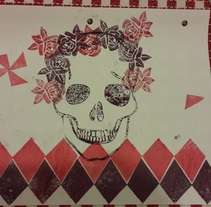 Mis primeros sellos, Carvado de sellos y técnicas de estampación Un curso de @Pablo Salvaje. A Fine Art project by Junior Bolivar         - 20.11.2015