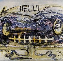 Transitar un Cuerpo, Pinturas. Un proyecto de Bellas Artes y Pintura de carmen esperón         - 24.11.2015