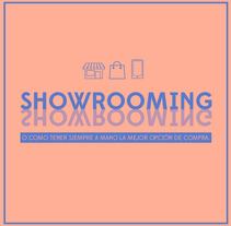 Infografías sobre Showrooming. A Art Direction, Graphic Design&Information Design project by Isabel Salas         - 25.11.2015
