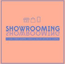 Infografías sobre Showrooming. Un proyecto de Dirección de arte, Diseño de la información y Diseño gráfico de Isabel Salas - Jueves, 26 de noviembre de 2015 00:00:00 +0100