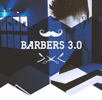 Barbers 3.0. A Art Direction, Graphic Design&Interior Design project by Domingo Hernández Vaquero - 29-11-2015