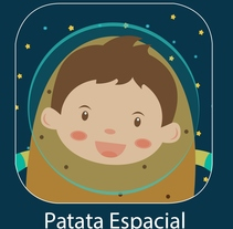 Patata Espacial / Space Potato. A UI / UX, Animation, Character Design, Game Design, Graphic Design, and Video project by OSCAR GOMEZ         - 01.12.2015