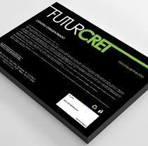 Etiquetas Futurcret. A Graphic Design project by Alejandro Serrano Caballero         - 15.11.2015