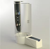 Modeling - evolutive shower H2o. Un proyecto de 3D y Diseño industrial de Alex Echard         - 03.12.2015